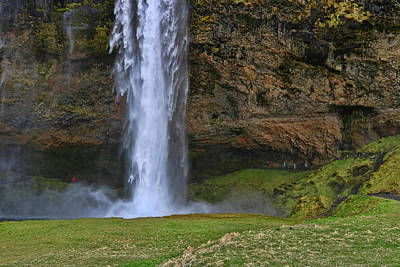 Photograph - Seljalandsfoss Waterfall # 2 by Allen Beatty