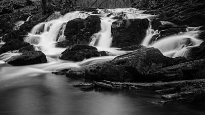 Photograph - Selkefall, Harz In Black And White by Andreas Levi
