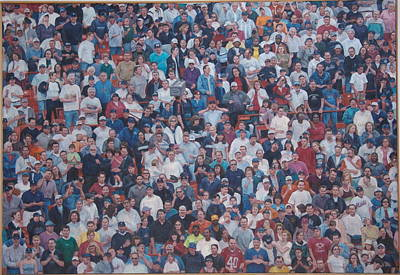 Painting - Sell-out Crowd by James Sparks