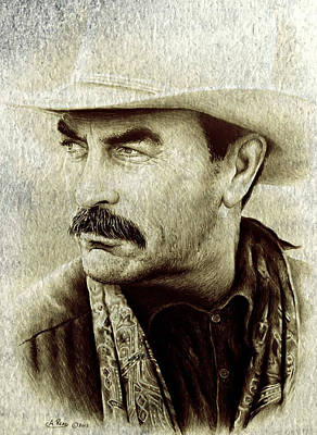 Walsh Painting - Selleck  by Andrew Read