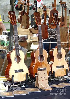 Photograph - Selling Guitars And Other String Instruments by Yali Shi
