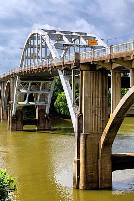 Selma - Edmund Pettus Bridge And Alabama River Art Print