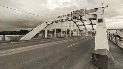 Selma - Edmund Pettus Bridge Art Print