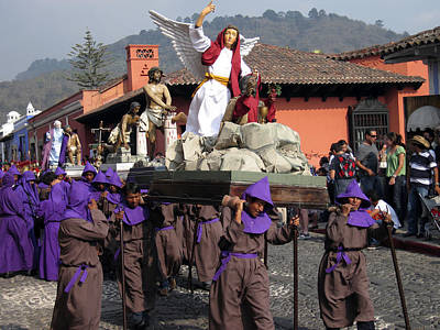 Photograph - Semana Santa Procession IIi by Kurt Van Wagner