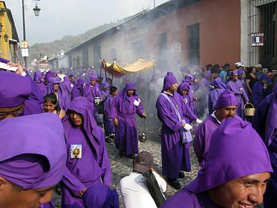 Photograph - Semana Santa Procession Iv by Kurt Van Wagner