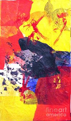 Painting - Semi-abstract Collage by Joe Hagarty
