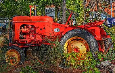 Photograph - Semi Retired by HH Photography of Florida