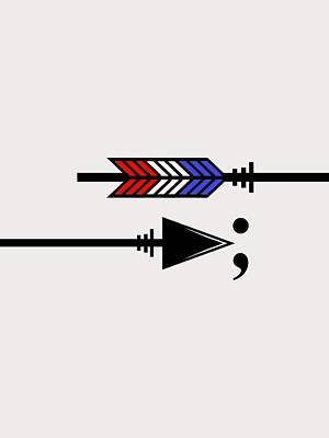 Digital Art - Semicolon 033 by Bill Owen