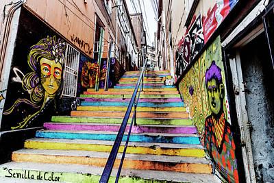 Arte Urbano Photograph - Semilla De Color by Robert Barsby