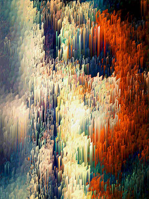 Dali Inspired Digital Art - Seminal Regression by Alix Rumble