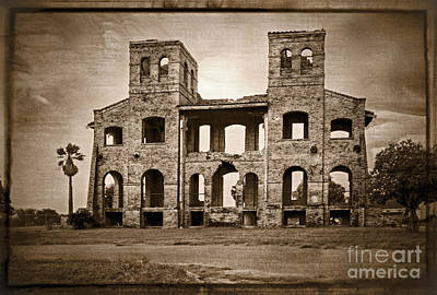 Photograph - Seminary Ruins by Imagery by Charly