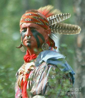 Photograph - Seminole Indian by Myrna Bradshaw