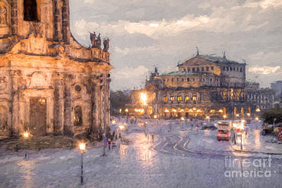 Dresden Photograph - Dresden by Julie Woodhouse
