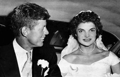 Ev-in Photograph - Senator John F. Kennedy, Jacqueline by Everett