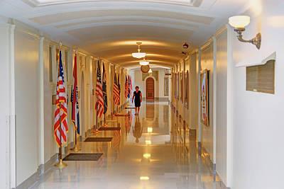 Photograph - Senators' Offices - Missouri Capitol by Nikolyn McDonald