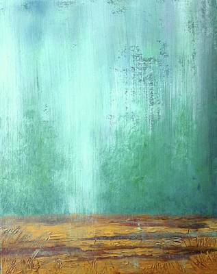 Painting - Send Down The Rain by T Fry-Green