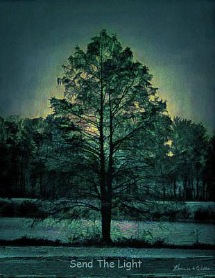 Digital Art - Send The Light by Bonnie Willis