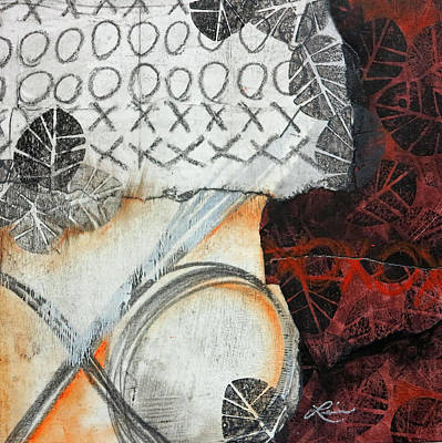 Mixed Media - Sending Kisses And Hugs by Laura  Lein-Svencner