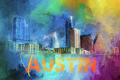 Photograph - Sending Love To Austin by Jai Johnson