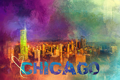 Photograph - Sending Love To Chicago by Jai Johnson
