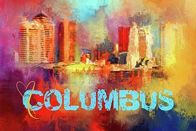 Photograph - Sending Love To Columbus by Jai Johnson