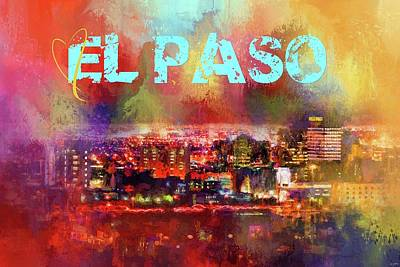 Photograph - Sending Love To El Paso by Jai Johnson