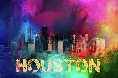Photograph - Sending Love To Houston by Jai Johnson