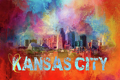 Photograph - Sending Love To Kansas City by Jai Johnson