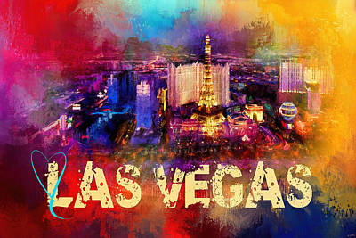 Photograph - Sending Love To Las Vegas by Jai Johnson