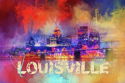 Photograph - Sending Love To Louisville by Jai Johnson