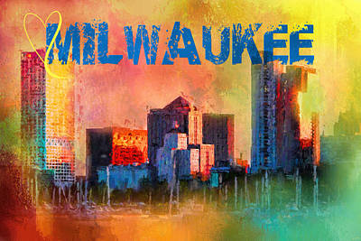 Photograph - Sending Love To Milwaukee by Jai Johnson