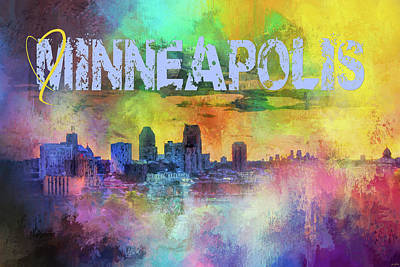 Photograph - Sending Love To Minneapolis by Jai Johnson