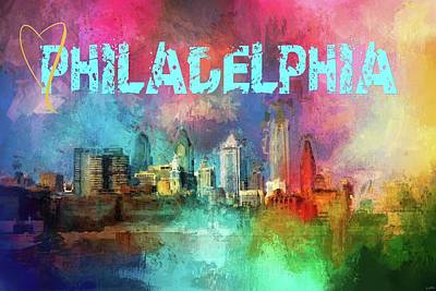Photograph - Sending Love To Philadelphia by Jai Johnson