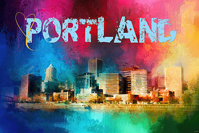 Photograph - Sending Love To Portland by Jai Johnson