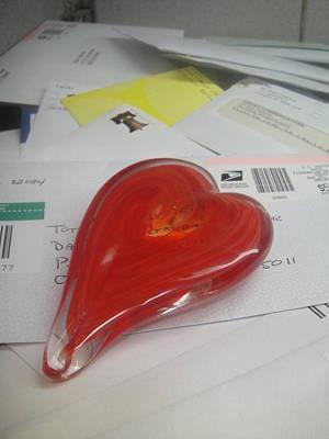 Sending You My Heart Through The Mail Art Print by WaLdEmAr BoRrErO