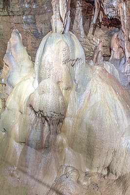 Photograph - Seneca Caverns Hidden Princess by Mary Almond