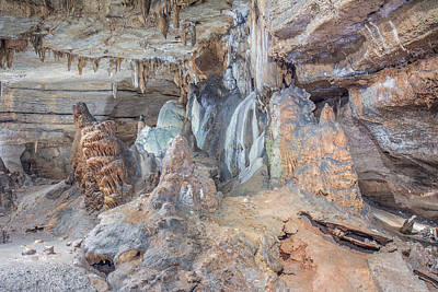 Photograph - Seneca Caverns Rock Formations by Mary Almond