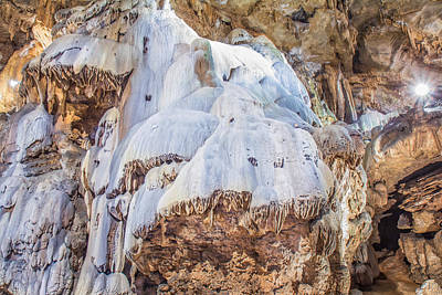 Photograph - Seneca Caverns Snowman by Mary Almond