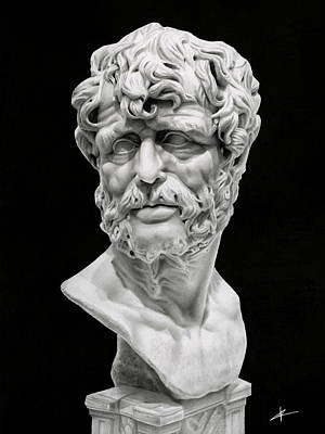 Drawing - Seneca by Christian Klute