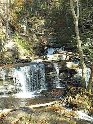 Keith Richards - Delaware and Seneca Falls 3 - Ricketts Glen by Cindy Treger