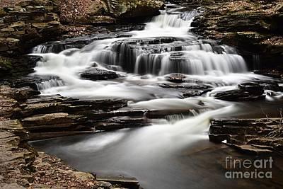 Photograph - Seneca Falls by Larry Ricker