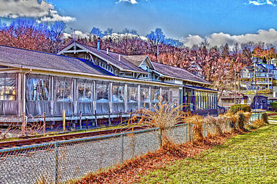 Photograph - Seneca Harbor Station by William Norton