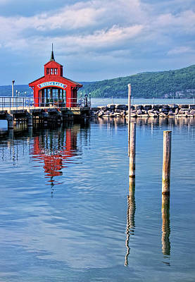 Photograph - Seneca Lake Harbor by Carolyn Derstine