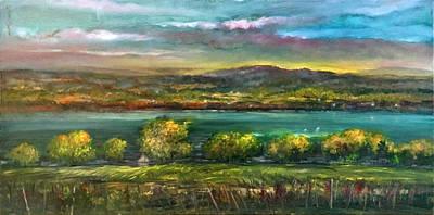 Seneca Lake Wine Country Original by Hall Groat Sr