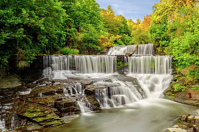 Photograph - Seneca Mills Fall  -  Senecamillsfall172265 by Frank J Benz