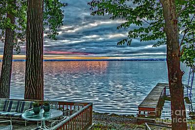 Photograph - Seneca Morning Storm by William Norton