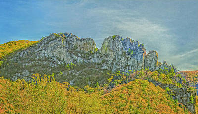 Photograph - Seneca Rock West Virginia by David Waldrop