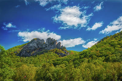 Photograph - Seneca Rocks by Guy Whiteley