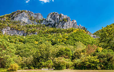 Seneca Rocks Art Print