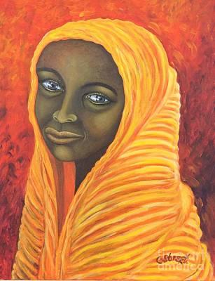 Painting - Senegalese Girl by Caroline Street